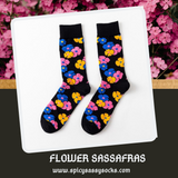 Flower Sassafras - Spicy Sassy Socks
