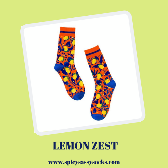 Lemon Zest - Spicy Sassy Socks