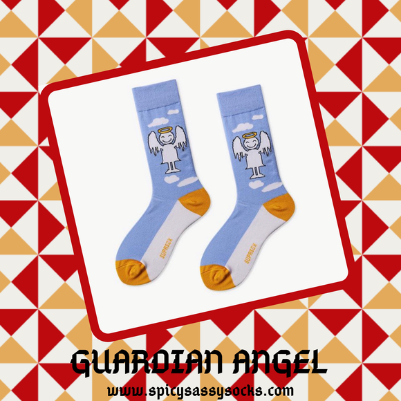 Guardian Angel - Spicy Sassy Socks