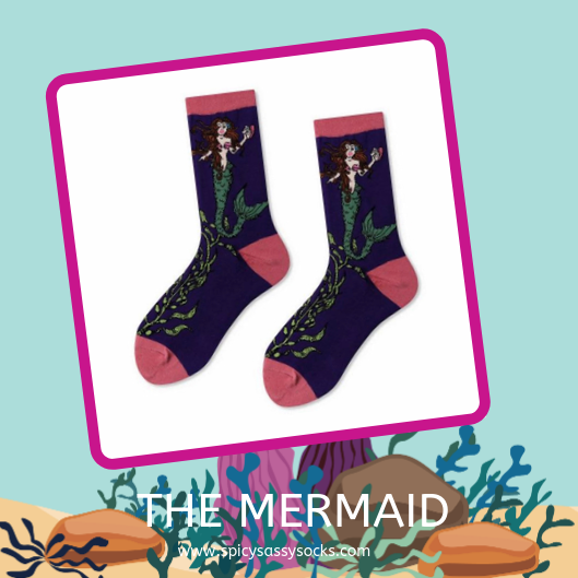 The Mermaid - Spicy Sassy Socks