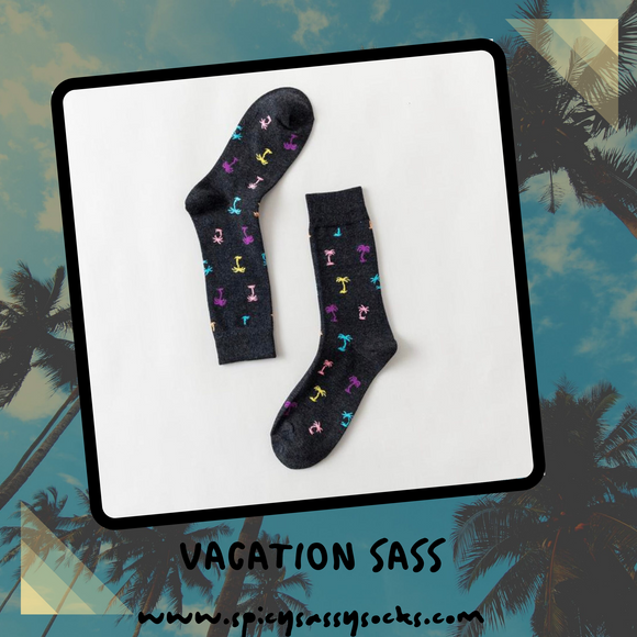 Vacation Sass - Spicy Sassy Socks
