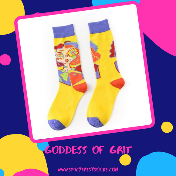 Goddess of Grit - Spicy Sassy Socks