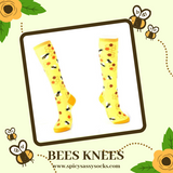 Bees Knees - Spicy Sassy Socks