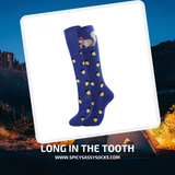 Long In The Tooth - Spicy Sassy Socks