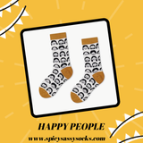Happy Faces - Spicy Sassy Socks