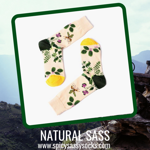 Natural Sass - Spicy Sassy Socks