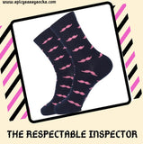 The Respectable Inspector - Spicy Sassy Socks