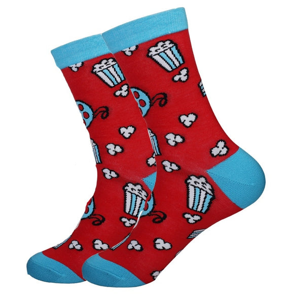 Pass the Popcorn - Spicy Sassy Socks