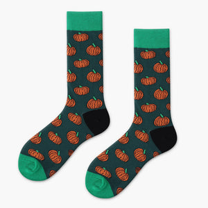 Pumpkin Patch Sass - Spicy Sassy Socks