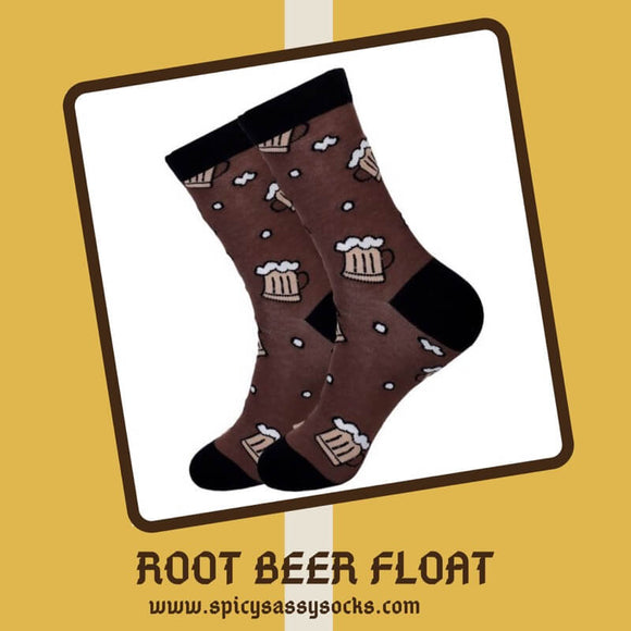 Root Beer Float - Spicy Sassy Socks
