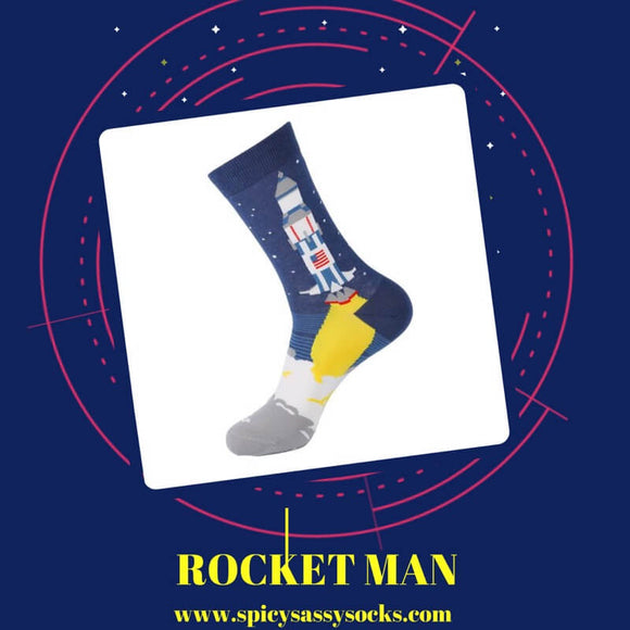 Rocket Man - Spicy Sassy Socks