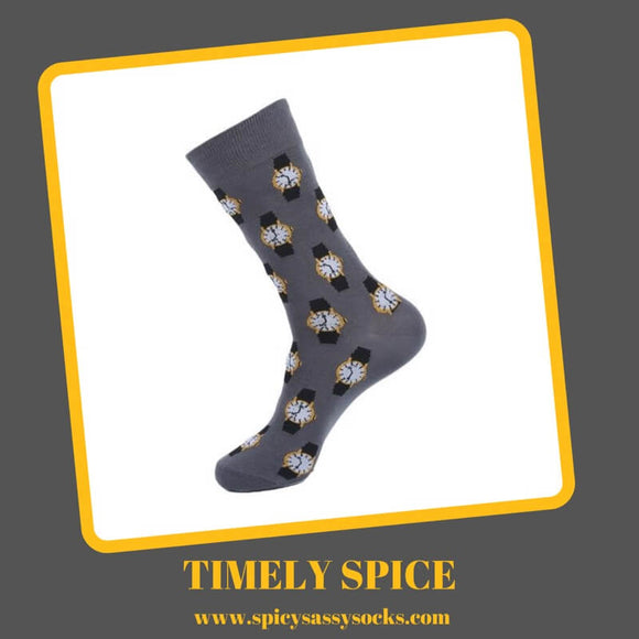 Timely Spice - Spicy Sassy Socks