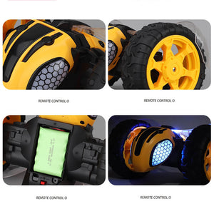 1:8 Hight Speed RC Car Lighting Remote Control Bumblebee Stunt Race Car