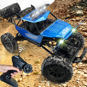 1:10 4WD RC Truck Updated Version 2.4G Remote Control Car Off-Road RC Trucks for Kids and Adults