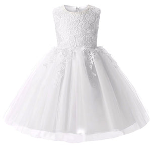 Lace Tulle Little Girls Toddler Pageant Dresses with Sweet Big Bow