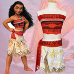 Movie Girls Polynesian Princess Adventure Outfit Dress Up Cosplay Costume