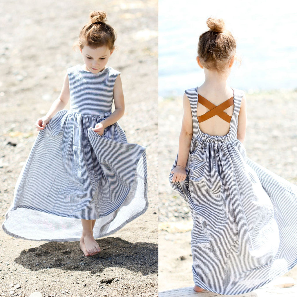 2-Pack Mommy and Me Dresses - Long Mother and daughter Maxi Dress Sundresses