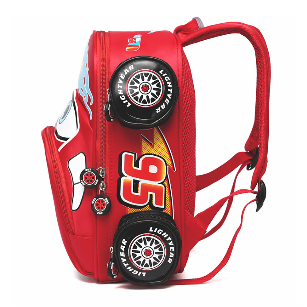 Magic 3D Car Backpack For Kids Boys Girls Car School Bag Backpack
