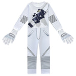 Kids Marshmallow DJ Rock Jumpsuit with Gloves and LED Helmet