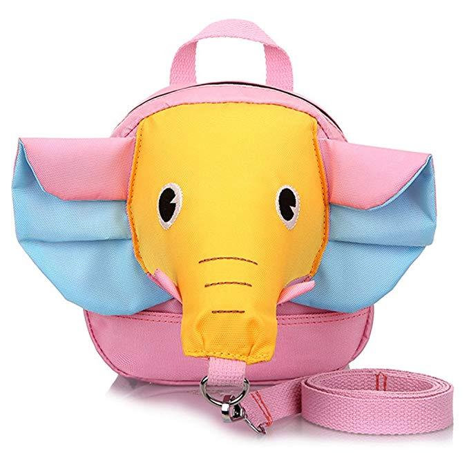 Toddler Backpack With Leash Elephant 3D Mini Backpacks For Kids Birthday Gift