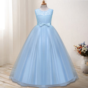 Floor Chiffon Sleeveless Flower Girl Dresses