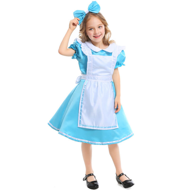 Elite Alice Girl's Costume Fairytale Cosplay Dress