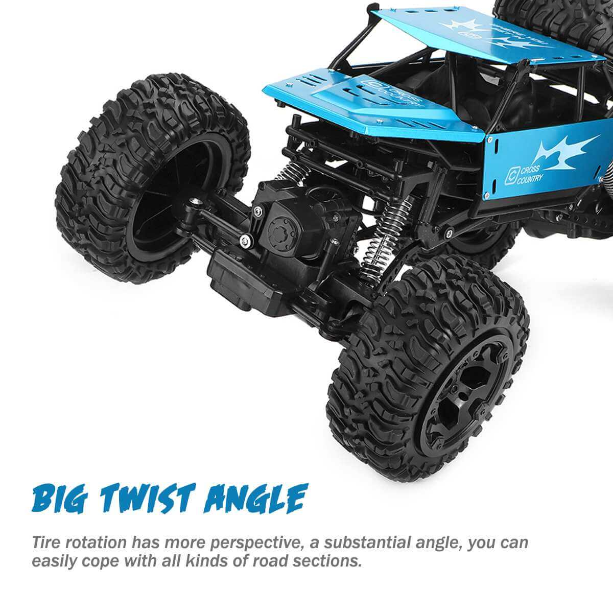 1:8 Amphibious 4WD RC Truck & Boat Waterproof 2.4G Remote Control Car Off-road Water Monster Vehicle