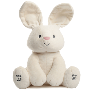 The Animated Bunny Plush Toy