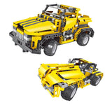 2-In-1 Building Blocks Remote Control Jeep Racer Car Educational STEM Learning Toys Gift