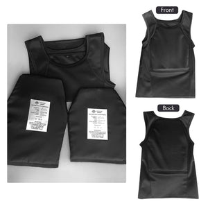 Enhanced Bullet Proof and Stabbing Proof Vest Covert Body Armor - NIJ Level IIIA Protection