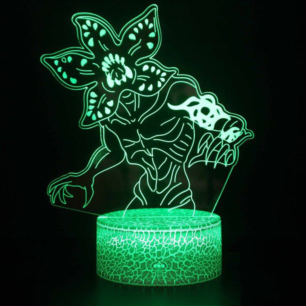 Demogorgon 3D LED Lamp