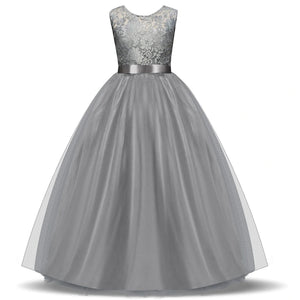 High-end Tulle Lace Flower Girl Dresses Girls Wedding Bridesmaid Dresses