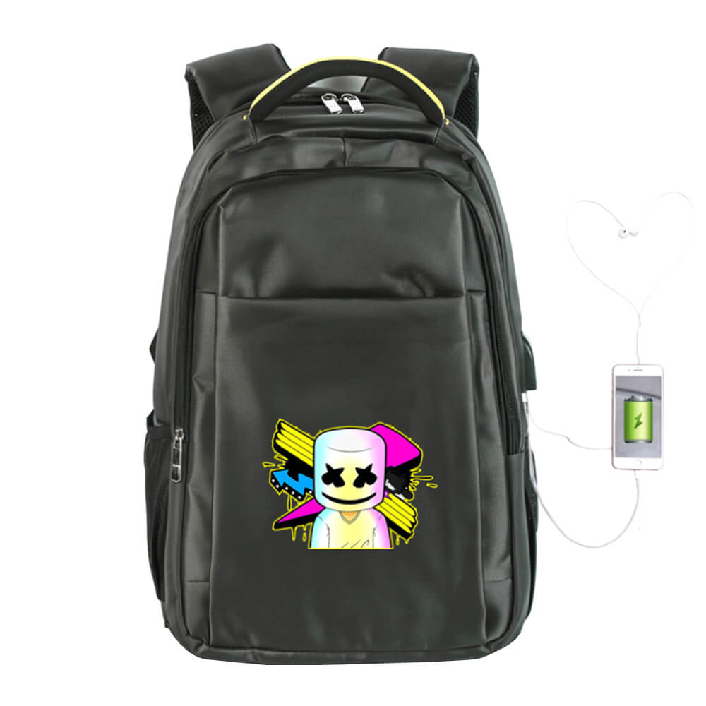 Classic DJ Marshmallow Backpack Kids Bookbag Outdoors Hiking Camping Traveling Backpack
