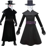 Kids Plague Doctor Costume for Kids Black Death Doctor Costume