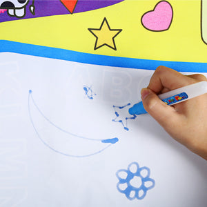 Magic Water Drawing Mat Educational Toy Water Painting Draw Writing Mat Kid Developmental Doodle Board Toy