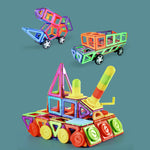 Magnetic Building Blocks Tiles 3D Toys STEM Building Blocks for Toddlers Girls Boys