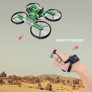 Mini Quadcopter Drone with Camera Ultralight Aircraft Electric Racing Remote Control Toy Small Plane Drone