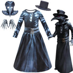 Kids Plague Doctor Costume Halloween Carnival Cosplay Costume