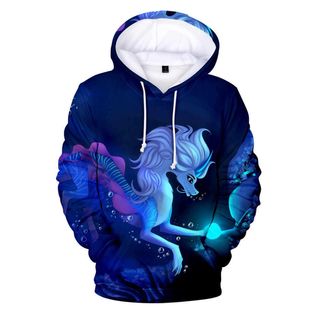 Kids and Teens Raya and the Last Dragon Shirt 3D Special Printing Clothes Hoodie 4-15 Years