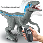 RC Toy Dinosaur Remote Control Robot Dinosaur Park Electric Walking Animals Controlled Toys