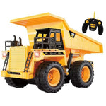 1:22 2.4Ghz 6CH RC Dump Truck Engineering Car Heavy Duty Construction Vehicle With Light Sound