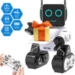 Robot Toy for Kids Smart RC Robot with Touch & Sound Control Intelligent Programmable Robot, Good Gift for Boys Girls