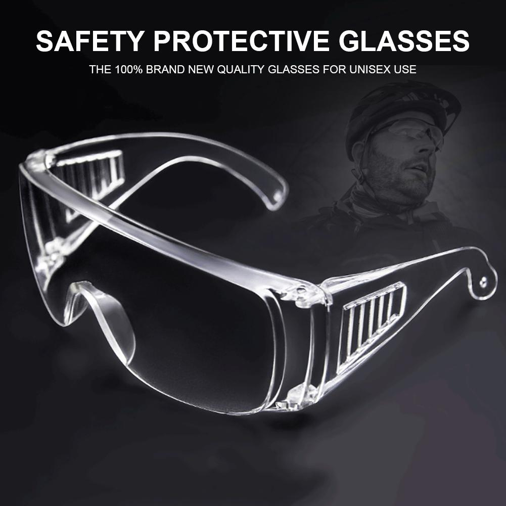 10pcs Safety Goggles and Glasses Chemical Industrial Eye Saliva Droplets Blocking Protective Goggles