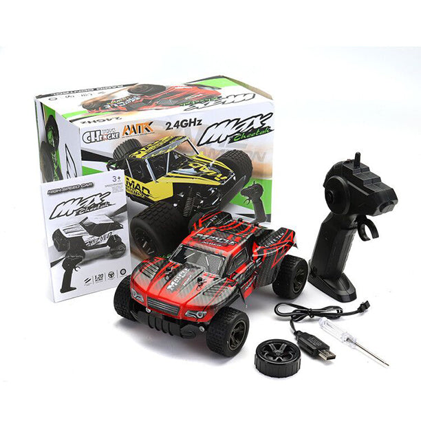 RC Cars Radio Control 1:20 2.4G Rock Car Toys For Children High Speed Climbing Mini Rc Drift driving Car