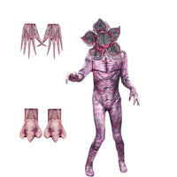 Demogorgon Costume Stranger Monster Halloween Cosplay Outfit For Kids and Adult