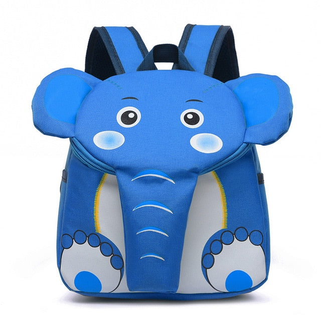 Toddler Schoolbag Fashion Cartoon Animal Anti-lost Backpack Kindergarten Bags