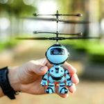 Hand Sensing Fly Robot Kids Suspension Aircraft Toys With USB