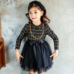 Girls Lace  Princess Tutu Dress Floral Sundress Outfit