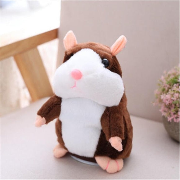 Talking Hamster Falante Mouse Pet Plush Toy Cute Talking Sound Record Educational Stuffed Doll