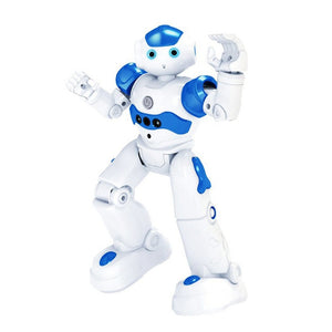 Intelligent Early Education Remote Control Robot Puzzle Boy Children's Toy Gesture Induction USB Charging